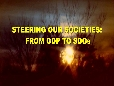 STEERING OUR SOCIETIES FROM GDP TO SDGs