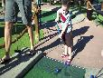 Mini Golf with the Family