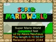 Super Mario World Beaten in 12 minutes