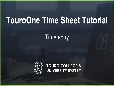 TouroOne Time Sheet Tutorial - Time Entry