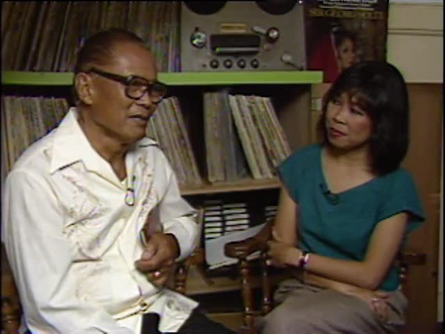 Interview with Tommy and Emme Tomimbang #2 5/19/87