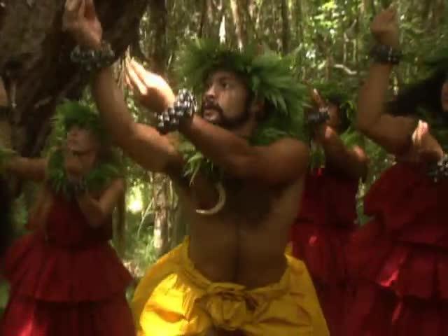 """Kumu Hula Pualani Kanakaʻole Kanahele and Hālau O Kekuhi perform several takes of """"Kualoloa Keaʻau I Ka Nāhelehele"""""""