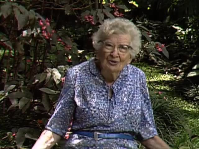 "Interview with ethnobotanist Dr. Beatrice ""Bea"" Krauss tape 4"