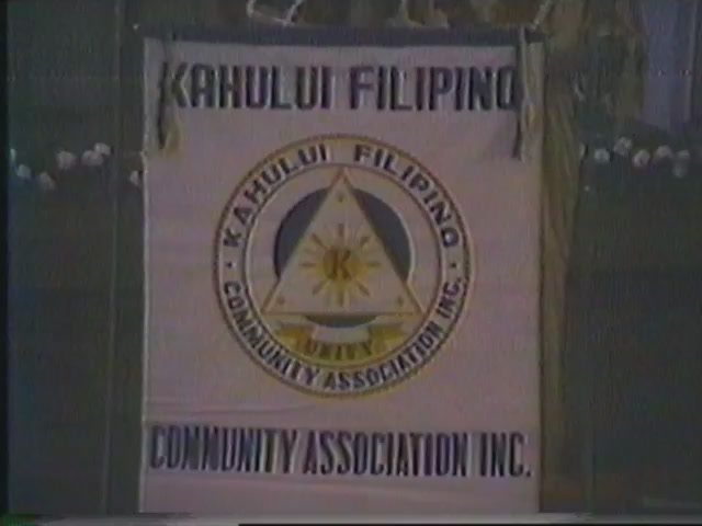 Kahului Filipino Community Association INC. Fifth Annual Miss Sampaguita Contest 1979