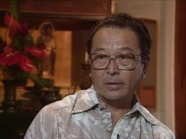 Interview with Bishop Yoshiaki Fujitani tape 1 3/4/88