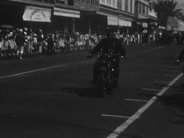 Mr. Ecklund on Parade