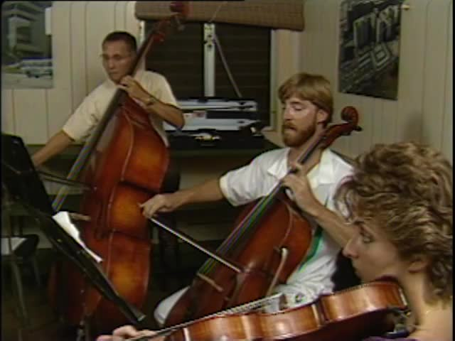 Pacific Quintet rehearsal #2 5/21/87