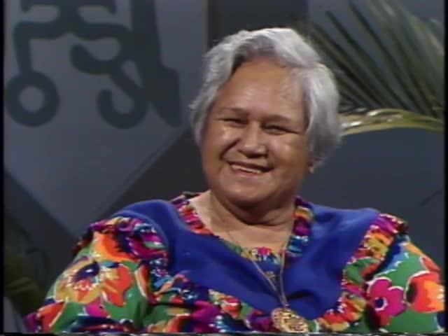 Pau Hana Years : Hannah Keolanui, Mother of the Year