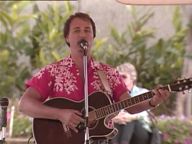 Pūpūkahi I ke Alo O Nā Pua Mid-Pacific's hula hālau, Hālau Hula Ke Kapa Maile, and Olomana; Sky Gate Park 1/16/93