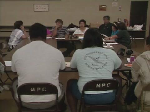 ʻOhana Council meeting on tribunal courts