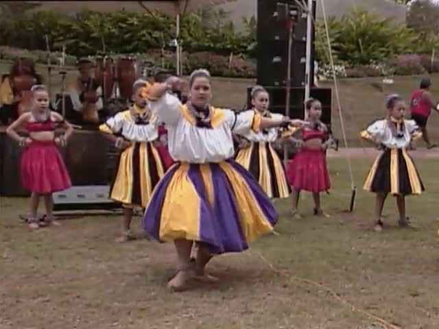 Olomana, Lehua Dance Company, and Loyal Garner; Sky Gate Park 1/16/93