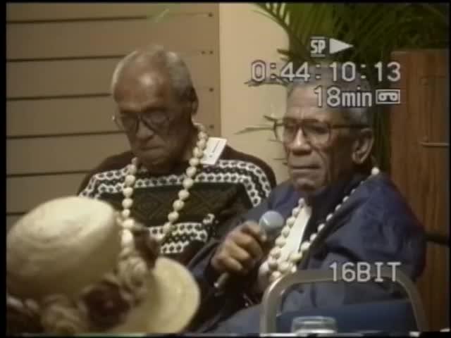 Mānaleo : Eddie Kaʻanāʻanā and Kamuela Kumukahi 1999 and 3/18/00