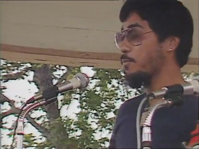 "Keliʻi ""Skippy"" Ioane: remarks and musical performance, Tribute to George Helm and Kimo Mitchell, March 1982"