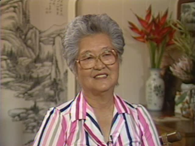 Interview with Tsuruye Watanabe #1 6/15/88