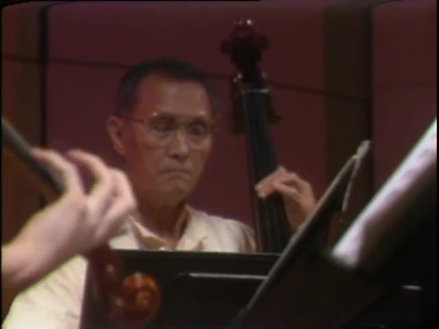 Pacific Quintet rehearsal at Mamiya Theatre 6/4/87