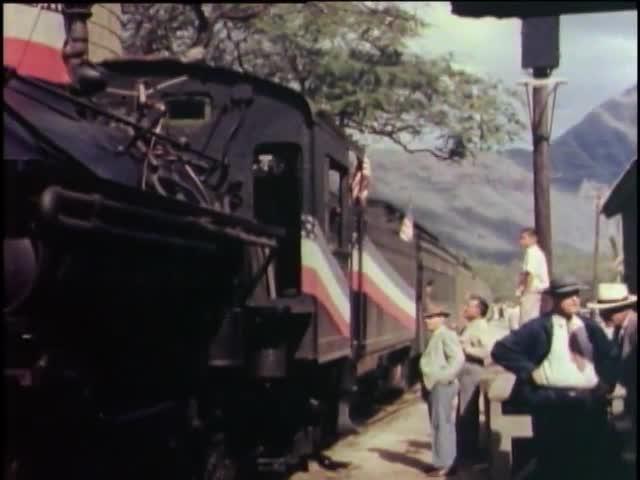 Last Ride on the Historic Oahu Railway 12/31/1947