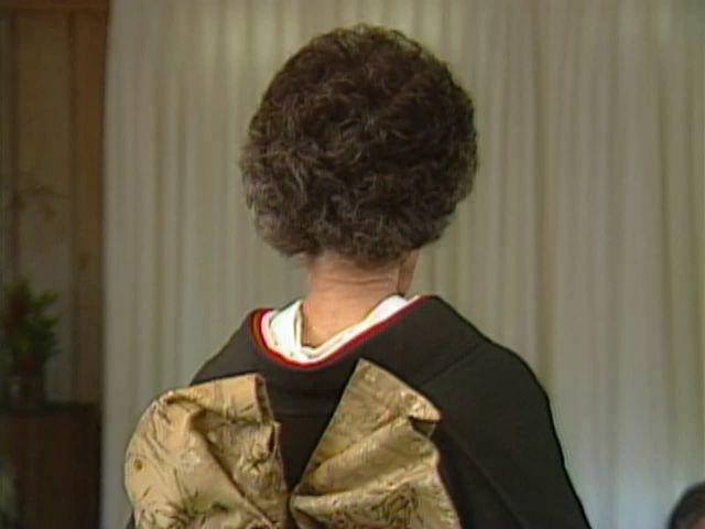 Shizu Kaigo kimono dressing #2 6/17/87