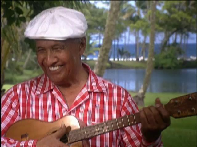 "Eddie Kamae introduces ""Words, Earth & Aloha : The Source of Hawaiian Music"" 6/7/95 tape 2"