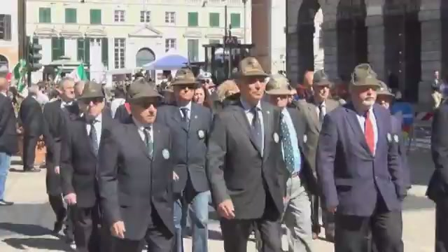 Genova ricorda la 'Grande Guerra': austriaci e italiani in piazza per la pace