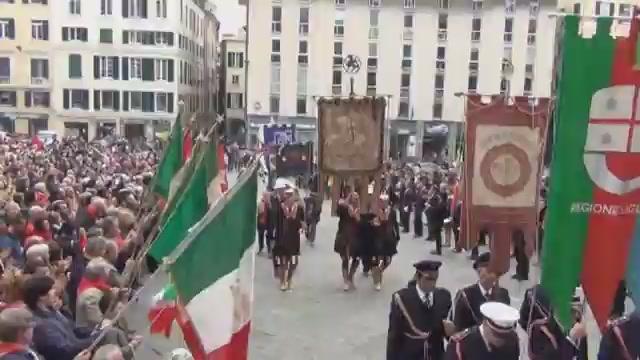 Festa della Liberazione: il corteo e la cerimonia per il 70° anniversario del 25 aprile