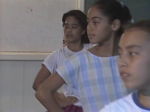 Hāna keiki hālau hula practice