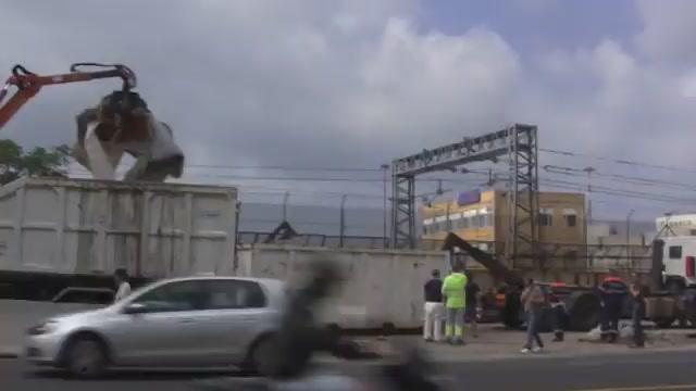 Genova, sgomberato campo rom di Lungomare Canepa