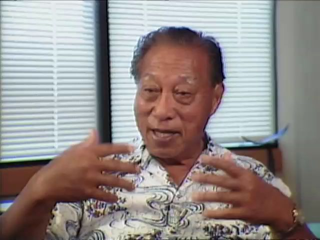 Interview with Senator Hiram Fong tape 3 6/5/85