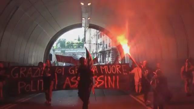 Partecipate, palazzo Tursi blindato e lavoratori in corteo nel centro di Genova