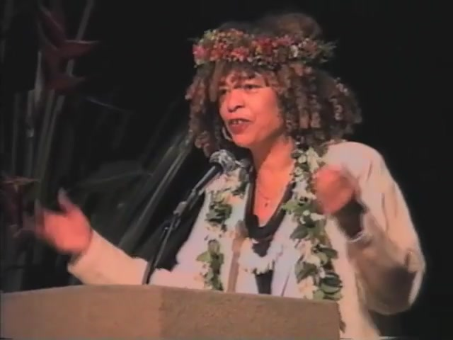 First Friday : The Unauthorized News : Special Presentation : Angela Y. Davis (March 1998)
