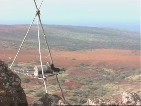 Kahoʻolawe November 18,1992 Landscape