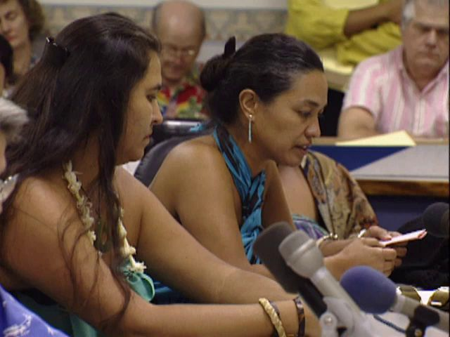 Senate Public Hearing on the H-3 and the Hālawa Valley heiau; 4/10/92 tape 3
