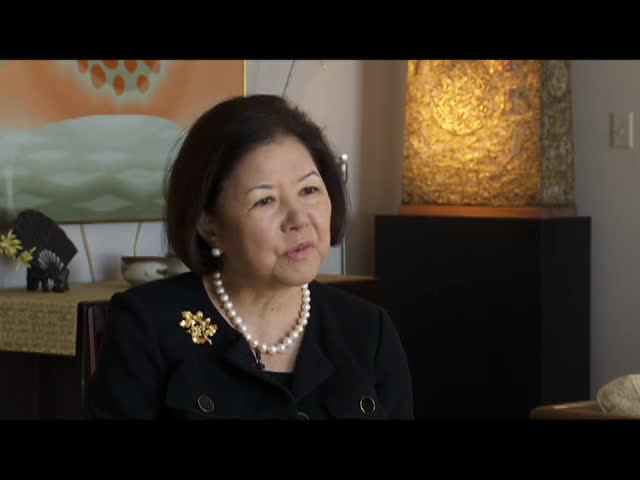 Interview with Irene Hirano Inouye