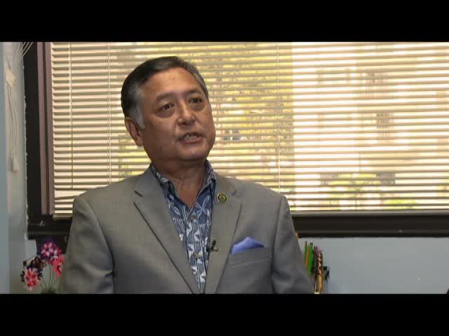 Interview with Congressman G. Riki Hokama