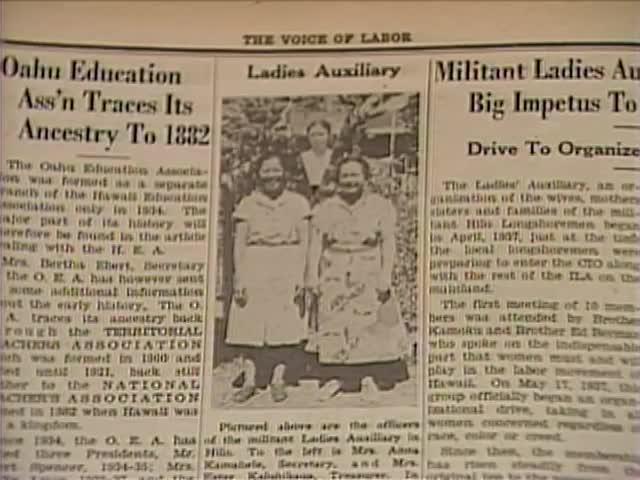 Voice of Labor headlines tape 2