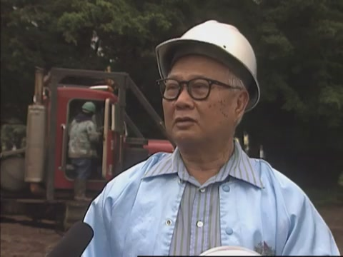 Interview with worker