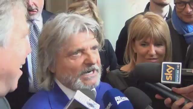 "Ferrero-Preziosi show: ""Finale Europa League a Marassi, ora però andiamo a mangià"""
