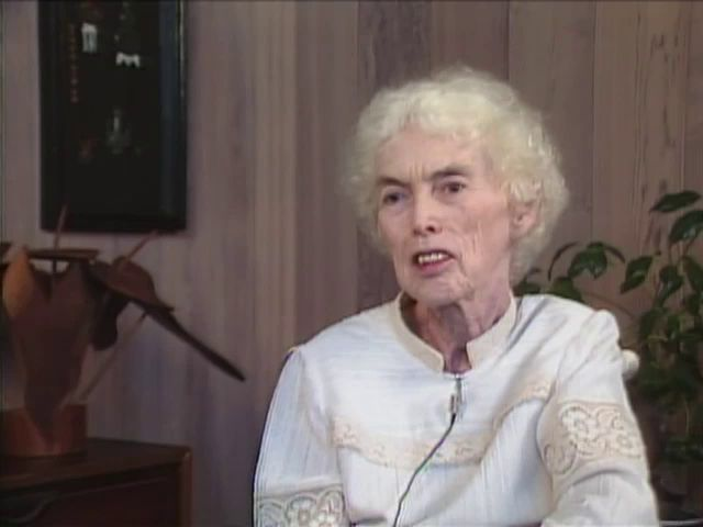 Interview with Beatrice Burns 4/84
