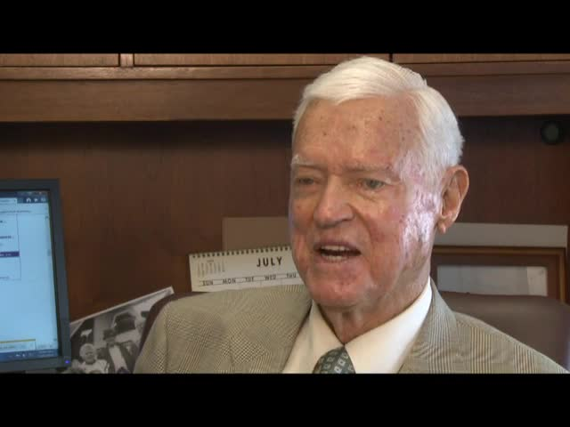 "Interview with Senator Ernest F. ""Fritz"" Hollings"