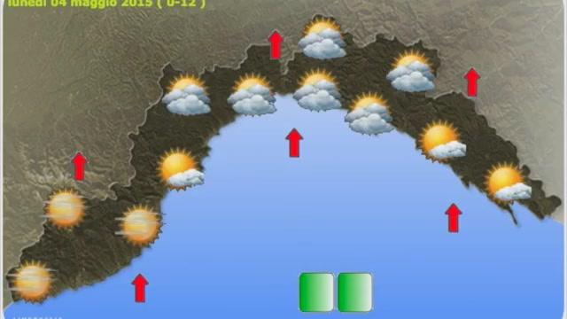 Meteo Liguria, da oggi sole e temperature in risalita