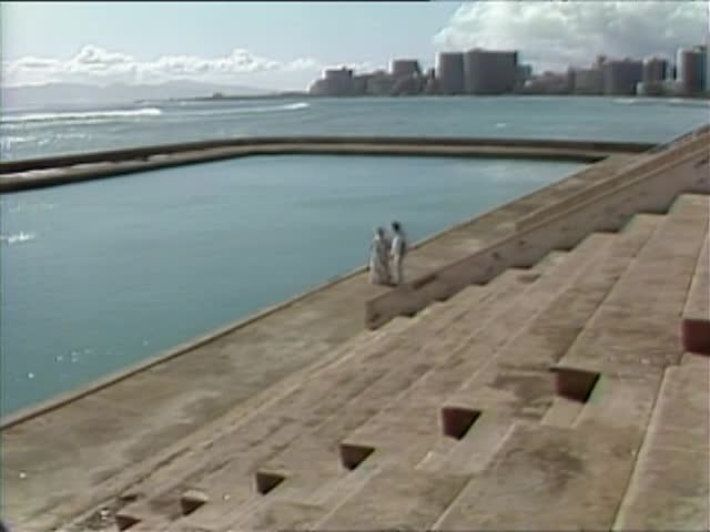 "Waikiki War Memorial Natatorium walk with Katherine ""Kay"" Napoleon"