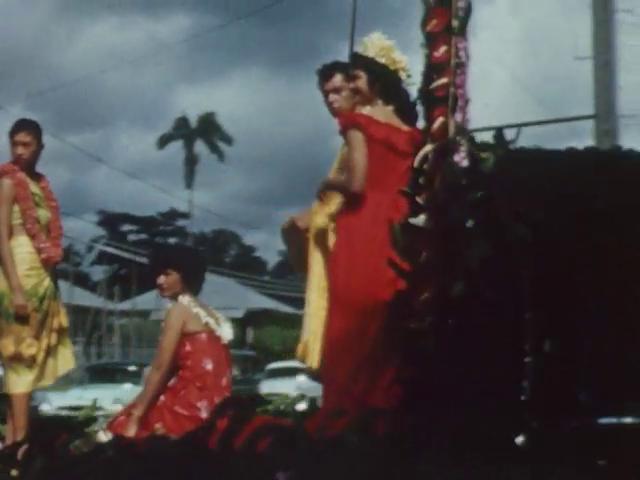 Aloha Week, October 21, 1961