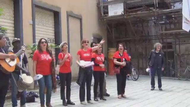Suq e Uisp, una marcia contro il razzismo