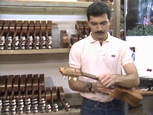 The Making of a Kamaka ʻukulele
