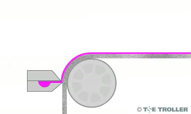 Vacuum slot die coating