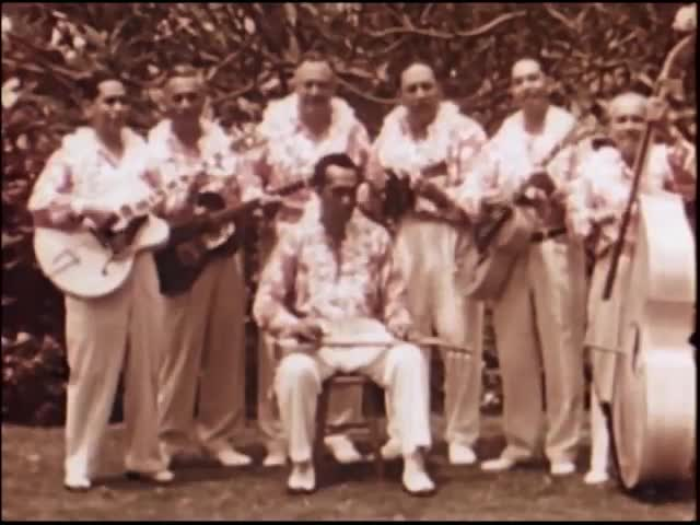 Cancer Trailer featuring Al Kealoha Perry and his Singing Surfriders circa 1950s