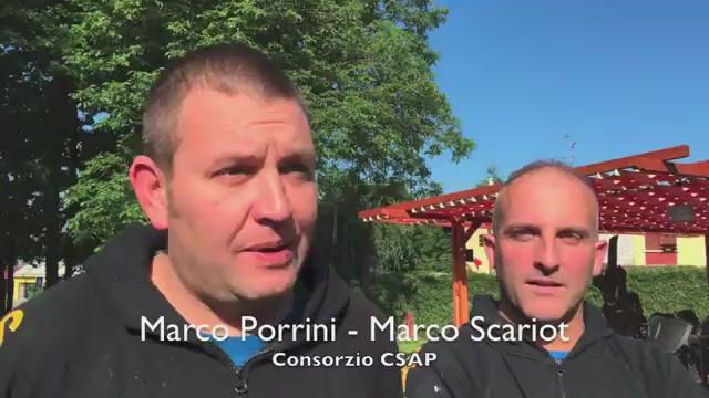 """Il """"nuovo"""" parco a Cardano al Campo"""