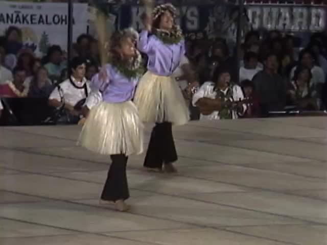 Merrie Monarch hula ʻauana night kāne and wāhine