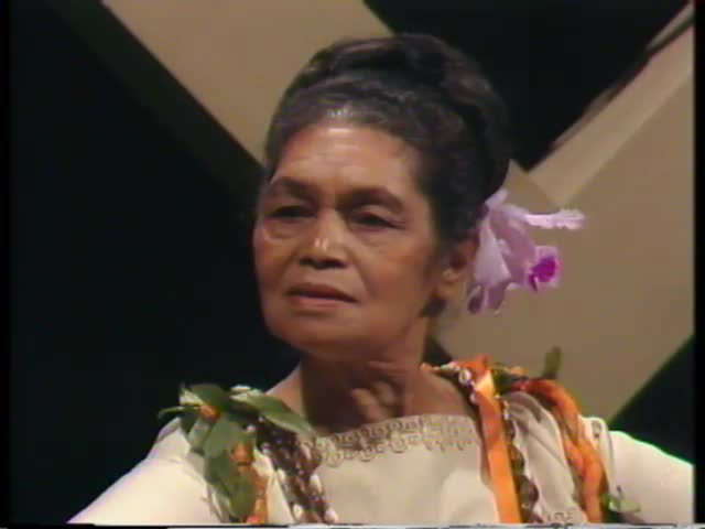 Pau Hana Years : Aunty Rose Joshua 1/29/76