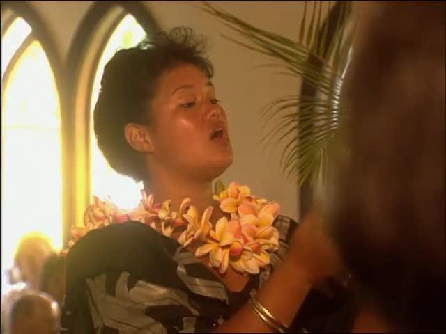 Waiʻoli Huiʻia Church Choir and Nāmolokama waterfall 6/2/91