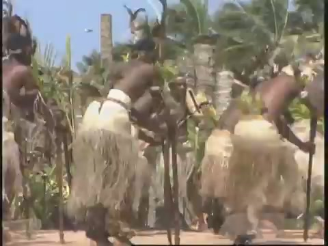 Solomon Islands traditional dance